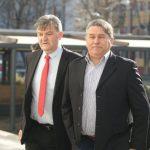 POD PRIJETNJOM HAPŠENJA: Halid Muslimović se pojavio na sudu